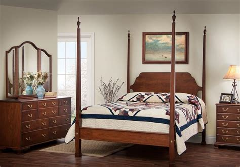 White Colonial Bedroom Furniture by Colonialstyle Furniture