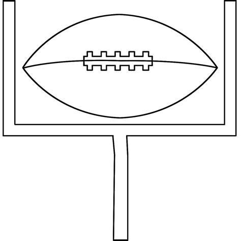 coloring page football field football field coloring page clipart panda free