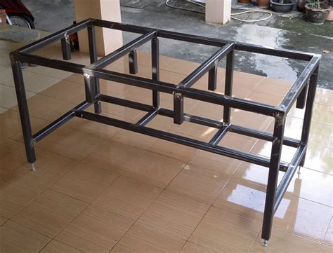 homemade metal work bench free diy homemade metal workbench plans