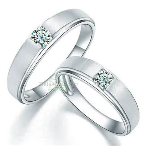 Cincin Nikah Perak Pasangan Tunangan Kawin Aa110 cincin kawin sadi zlata silver