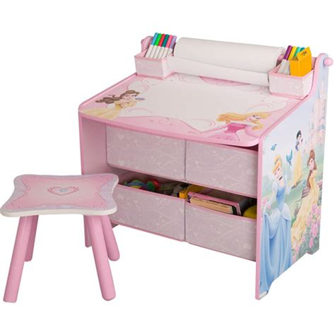 toddler art desk disney princess art desk with storage organization