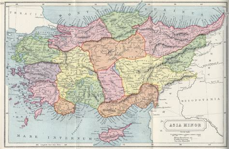 map of modern asia map of asia minor modern turkey during times