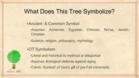 what do trees symbolize tree of
