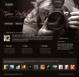 photography site template real focus website template 4317 photography