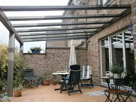 terrassenueberdachung glas terrassendach alu glas haus design ideen