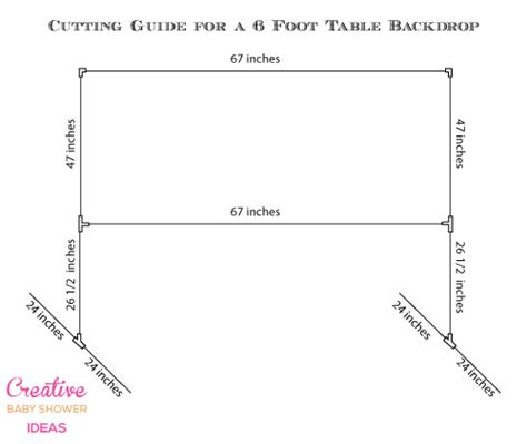 Wedding Backdrop Measurements by Diy Backdrop Ideas For A Baby Shower