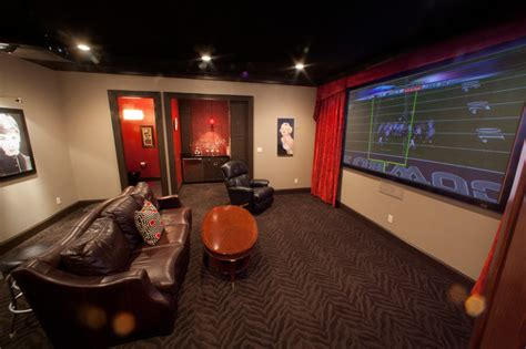 Ideas For Remodeling Kitchen by Man Cave Home Theater Dallas By Texas Wood Mill
