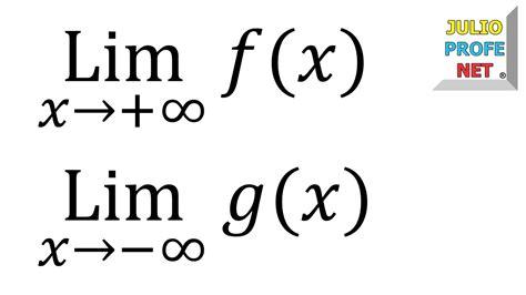 limite tende a infinito l 205 mites al infinito ejercicios 1 4