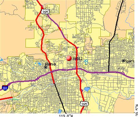 zip code map reno reno nevada zip code map images