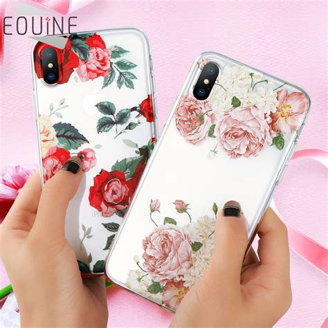 Glow In The Flower Xiaomi Note 4x Free Tempered Glass flower for xiaomi mi a1 mi 5x redmi note 4x 4a cover for iphone x 6 6s 7 8 plus 5 5s se for