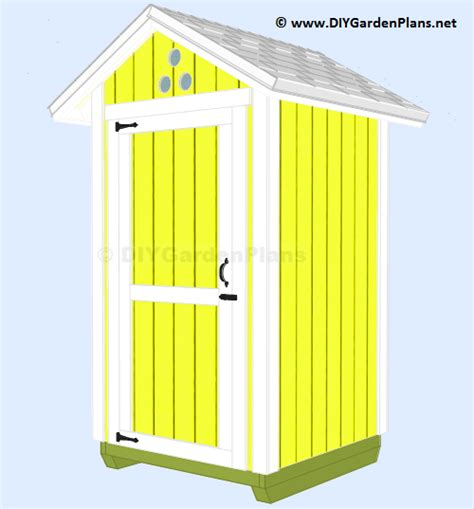 small  shed plans  garden tools storage  diy