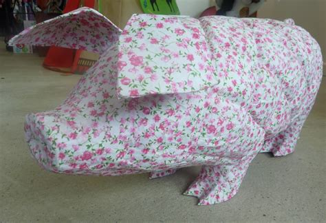 How To Make A Paper Mache Pig - paper mache pigs the official hansen website