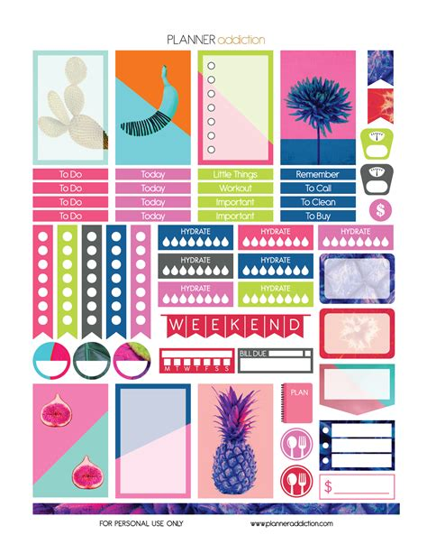 free printable planner art search results for free planner stickers printable