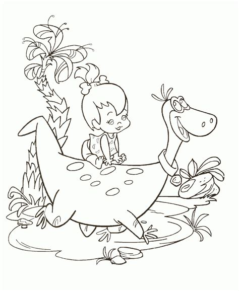 flintstones characters coloring pages coloring pages flintstones coloring pages