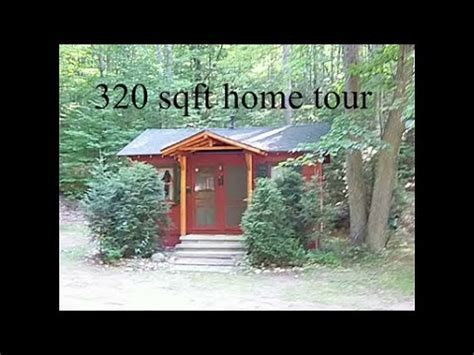 Small Cabin Floorplans a 320 sq ft tiny home tour youtube