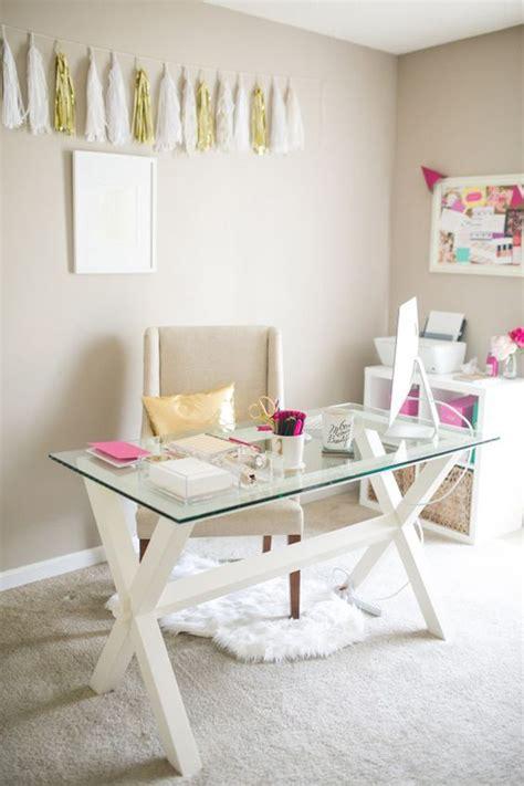 feminine office furniture 20 feminine glass desks for modern workspaces house
