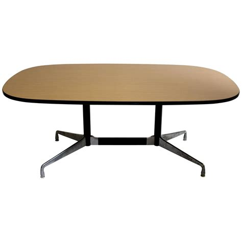 Herman Miller Meeting Table And Charles Eames For Herman Miller Modern Dining Conference Table At 1stdibs
