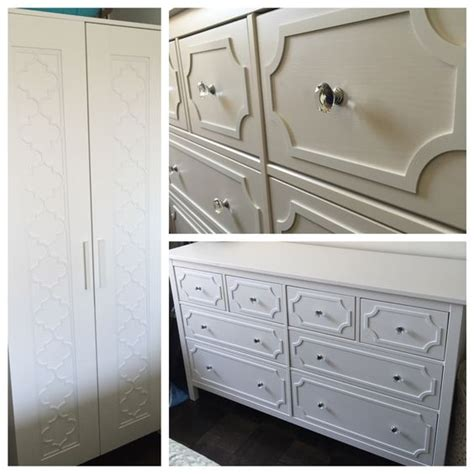 overlays ikea overlays crystal knobs and hemnes on pinterest