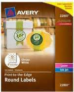 Avery Permanent Inkjet Foil Mailing Labels 8987 34 X 2 14 Gold Foil Pack Of 300 By Office Depot Avery 8987 Gold Foil Template