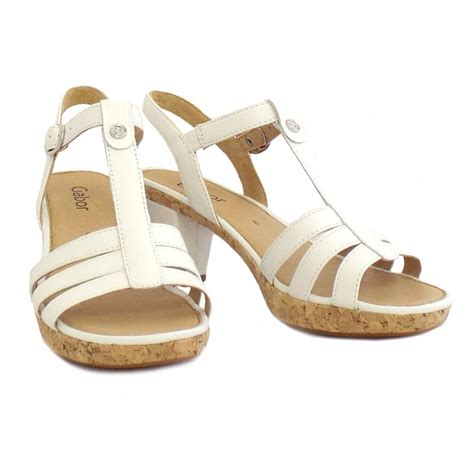 easton sandals gabor sandals easton white leather dressy sandals