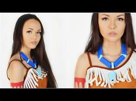 Pocahontas Kette Selber Machen 3680 by Pocahontas Makeup Anleitung And Makeup On
