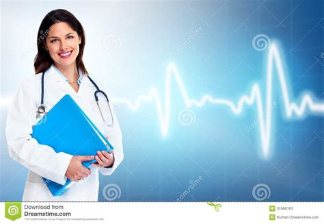 doctor woman health care stock photos image 31666163
