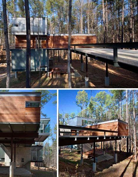 Ultramodern Cabin Creative Modernist Forest Ultramodern Cabin Creative Modernist Forest Home