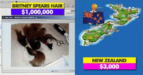 Britneys Mop Of Hair Being Sold On Ebay by 5 Most Things Auctioned On Ebay Marketing Mind
