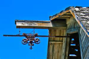 barn hoist hay loft photograph by larry headley