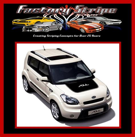 blacked out kia emblem buy 2008 2013 kia soul blackout with outline decal