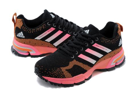 Adidas Marathon Black Orange s adidas marathon tr 13 running shoes black orange