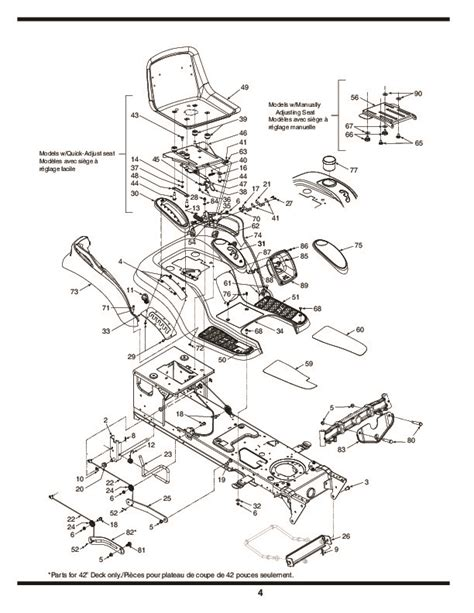 mtd lawn mower parts diagram mtd 600 hydrostatic lawn tractor mower parts list
