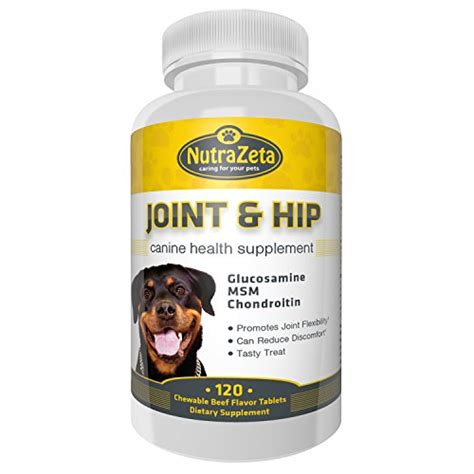 vitamin c for dogs save 40 glucosamine for dogs advanced joint hip supplement 120 chewable tabs