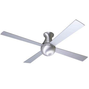 modern fan company ball modern fan hugger 36 42 52 in aluminum ceiling fan mf650 al