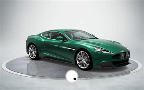green aston martin build your own 2013 aston martin am310 vanquish with