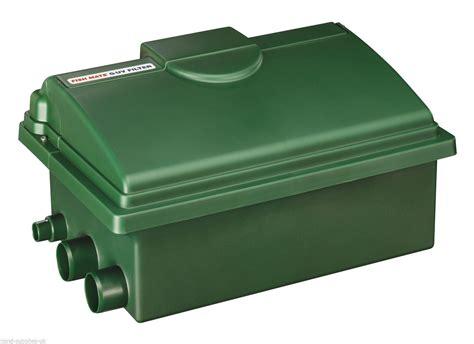 koi pond filter box fish mate 6000 guv 16w uv bio media gravity filter box
