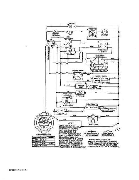 yt 4000 lawn tractor wiring diagrams repair wiring scheme