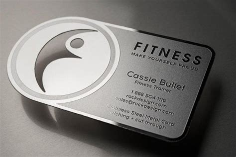 snap fitness business card template metal business cards free business card templates