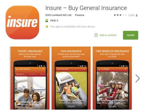 Compare Car Insurance Icici Lombard by Icici Lombard Insure Car Insurance App Features Updated