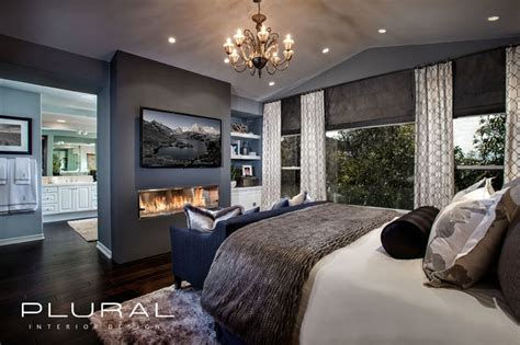 3 Bedroom Apartments In Orange County modern glam master retreat contemporary bedroom