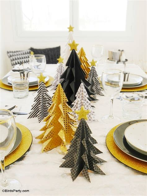 my black gold christmas tablescape