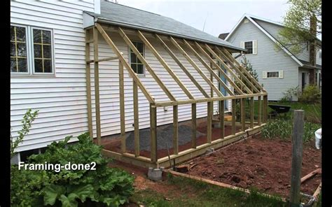 how do i build a greenhouse in my backyard lean to greenhouse youtube
