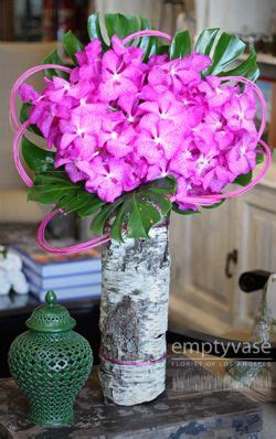 The Empty Vase Los Angeles by Florists Birch Bark And Vase On