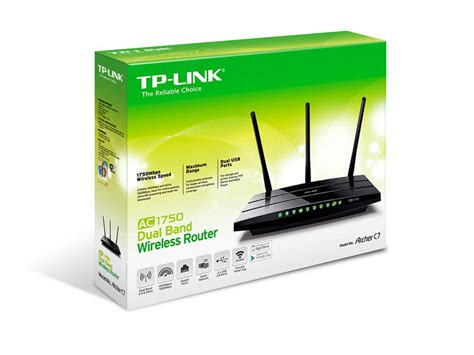 tp link archer c7 ac1750 dual band wireless ac gigabit