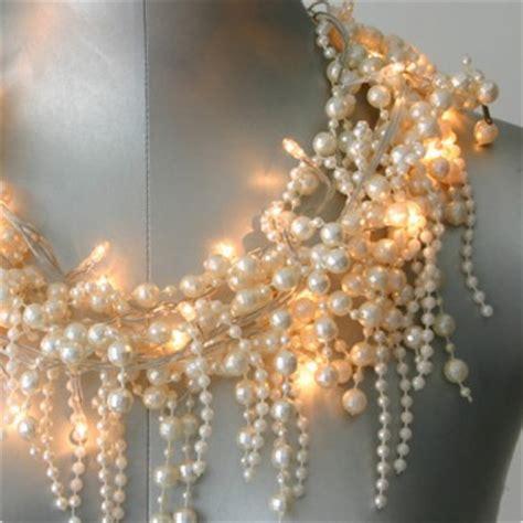 Baroque Pearl String Lights Pearl String Lights