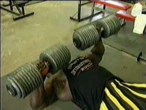 how much can ronnie coleman bench press bodybuilding ronnie coleman dumbell bench press youtube