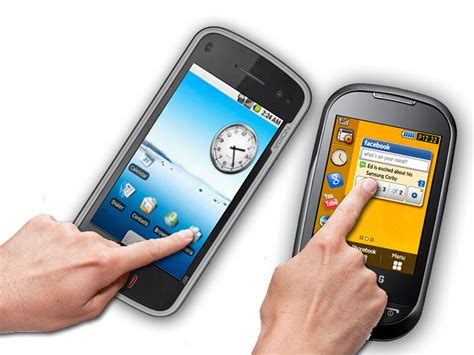 touch screen mobile phones touchscreen lowdown resistive vs capacitive features