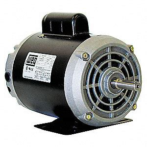 weg 1 2 hp commercial duty air compressor motor capacitor start 3400 nameplate rpm 115 208 230