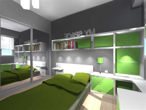 chambre design enfant chambre enfant design verte
