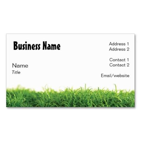 lawn care business card templates free 10 images about lawn care business cards on